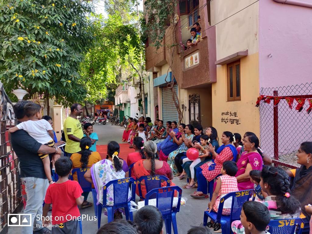 மகளிர் தின விழா -மகளிர் பாசறை - கொளத்தூர் தொகுதி