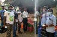 கபசுரக் குடிநீர் வழங்குதல்- புதுச்சேரி
