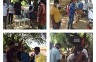 கொரோனா நோய் தடுப்பு நடவடிக்கையாக கபசுரக் குடிநீர் வழங்கும் நிகழ்வு-காரைக்குடி