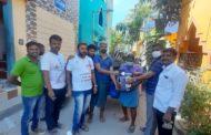 நிவாரணப் பொருட்கள் வழங்குதல்-பெரம்பூர்