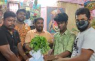 ஊரடங்கு உத்தரவால் உணவின்றி தவிப்பவர்களுக்கு உணவு வழங்கும் நிகழ்வு-பெரம்பூர்
