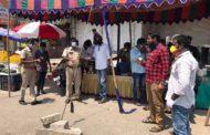 கொரோனா நோய் தடுப்பு நடவடிக்கையாக கபசுர குடிநீர் வழங்குதல்-கொளத்தூர்