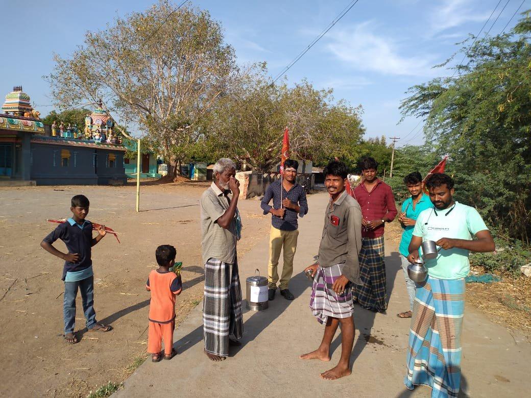 கபசுரக் குடிநீர் வழங்கல்/உளுந்தூர்பேட்டை