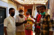 ஊரடங்கு உத்தரவால் உணவின்றி தவிப்பவர்களுக்கு உணவு வழங்குதல்-திருப்பூர்