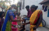 கிராமங்களுக்கு கபசுர குடிநீர் வழங்குதல்-காட்டுமன்னார்கோயில்