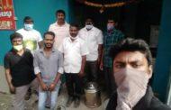 கபசுர குடிநீர் வழங்கும் ஆலந்தூர் தொகுதி