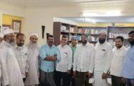 அனைத்து இஸ்லாமிய அமைப்புகளின் கூட்டமைப்பினர் சீமான் உடன் சந்திப்பு
