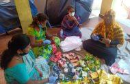 கபசுர குடிநீர் வழங்குதல் உணவு பொருட்கள் வழங்குதல்- அண்ணா நகர் தொகுதி