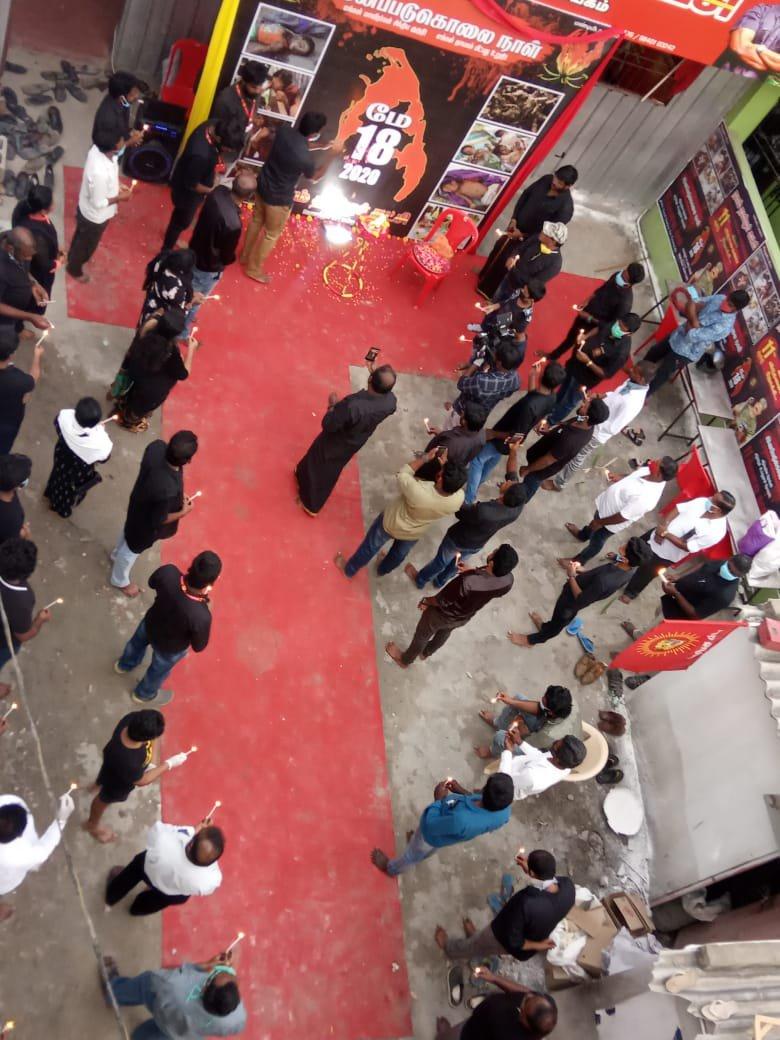 மே 18 இன எழுச்சி நாள் நினைவேந்தல் நிகழ்வு- பெரம்பூர் தொகுதி