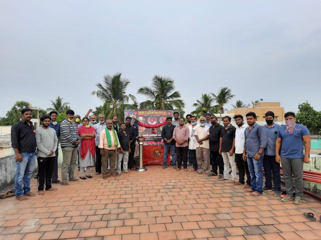 மே 18 வீரவணக்க நினைவேந்தல் நிகழ்வு-அம்பத்தூர் தொகுதி