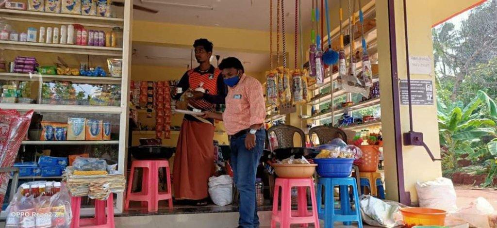 கபசுரக் குடிநீர் வழங்குதல் - கன்னியாகுமரி