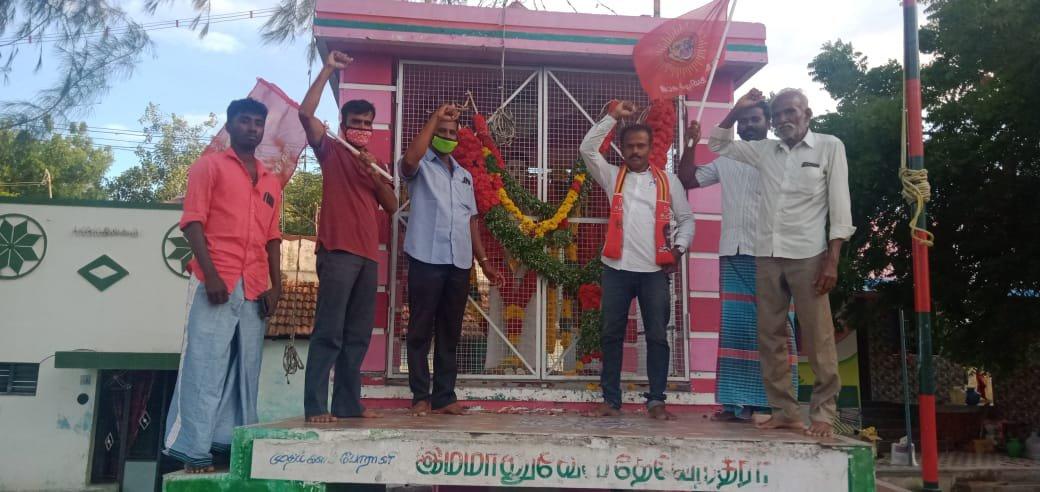 ஐயா இமானுவேல் சேகரனார் நினைவு நாள் -விளாத்திக்குளம் தொகுதி